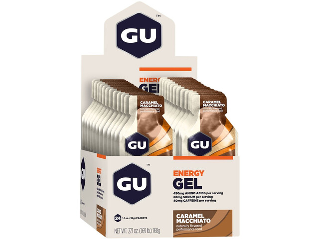 GU Energy Sachet de gel 24 x 32g, Caramel Macchiato